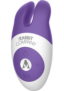 The Rabbit Company Lay On Silicone Rabbit Purple